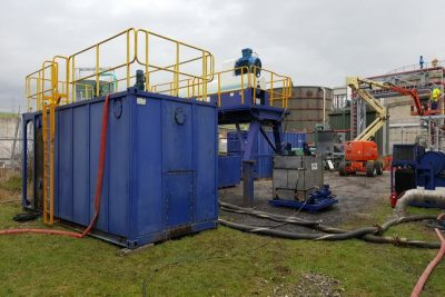 Case Study UK Water Company Tank Cleaning